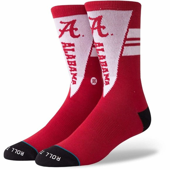 STANCE NCAA Alabama Pennant Socks Sz L 9-12